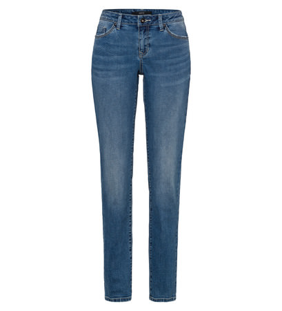 Jeans slim fit 32 Inch in mid blue wash effects