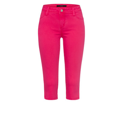 Jeans in 3/4-Länge in bright pink