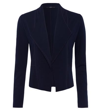 Sweatjacke in blue black