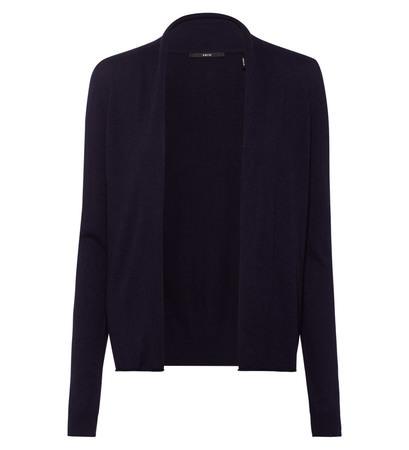 Strickjacke Smilla mit Cashmere in blue black