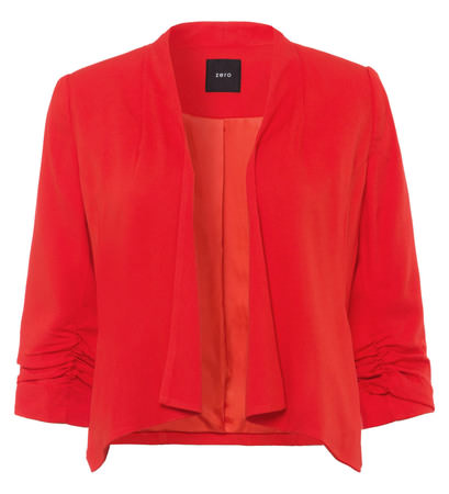 Blazer mit 3/4-Ärmeln in orange red