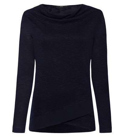 Jersey Sweater im Lagen-Look in blue black