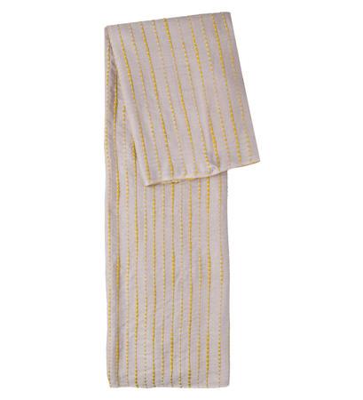 Schal mit Effektgarn in dove grey