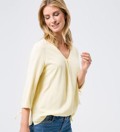 Bluse im Tunika-Stil in vanilla ice