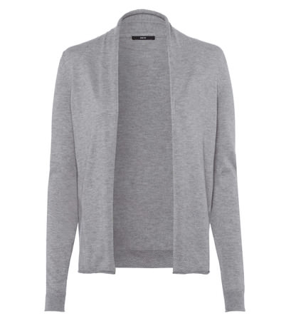 Strickjacke Smilla mit Cashmere in silver grey-m
