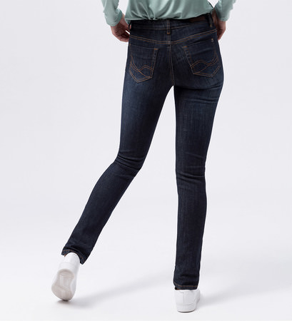 Jeans Slim fit 34 Inch in dark blue stone washed