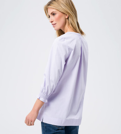 Bluse im Tunika-Stil in lavender