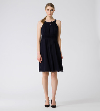 Kleid im eleganten Design in blue black