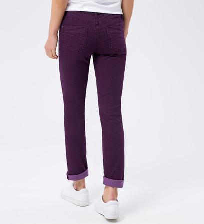 Jeans im modischen Design 32 Inch in plum