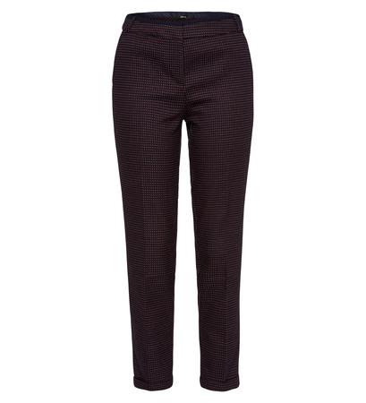 Hose mit grafischem Muster in blue black