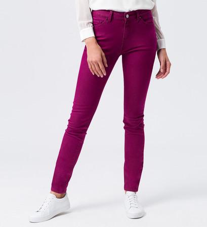 Jeans schmales Bein 32 Inch in dark magenta