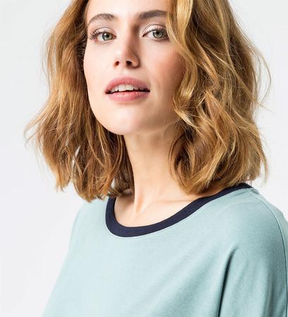 Shirt  two in one Optik in dusk jade