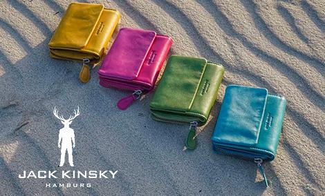 Jack Kinsky Damen Acces. Geldbörse in grau kaufen | Zumnorde