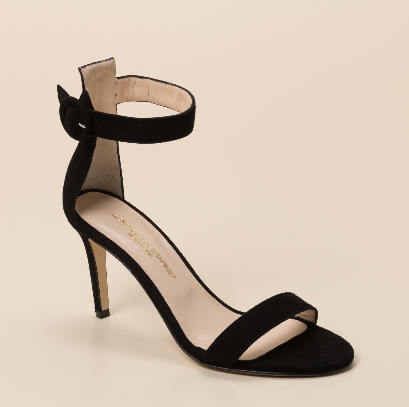 Ausgefallene Sandalette Schwarze Sandalette Schwarze Ausgefallene Schwarze WodCxerB