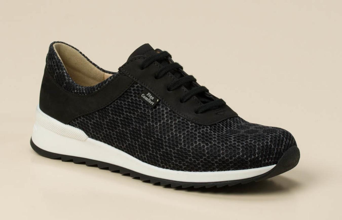 Damen Shop KaufenZumnorde Comfort Online Finn Sneaker In Schwarzgrau USzMVqpG