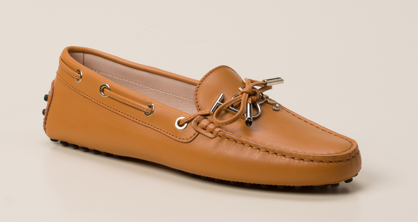 Cognac Leather Mokassins Leather Mokassins Ballerina wulOPXkiZT