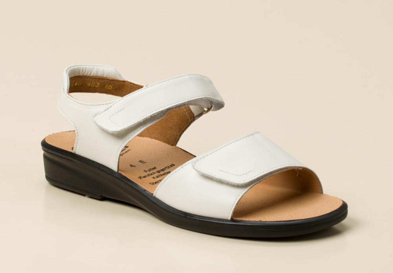 Weite Ganter Weiß Weiß Sandalen E Weite Ganter Sandalen QtrxhCsBd