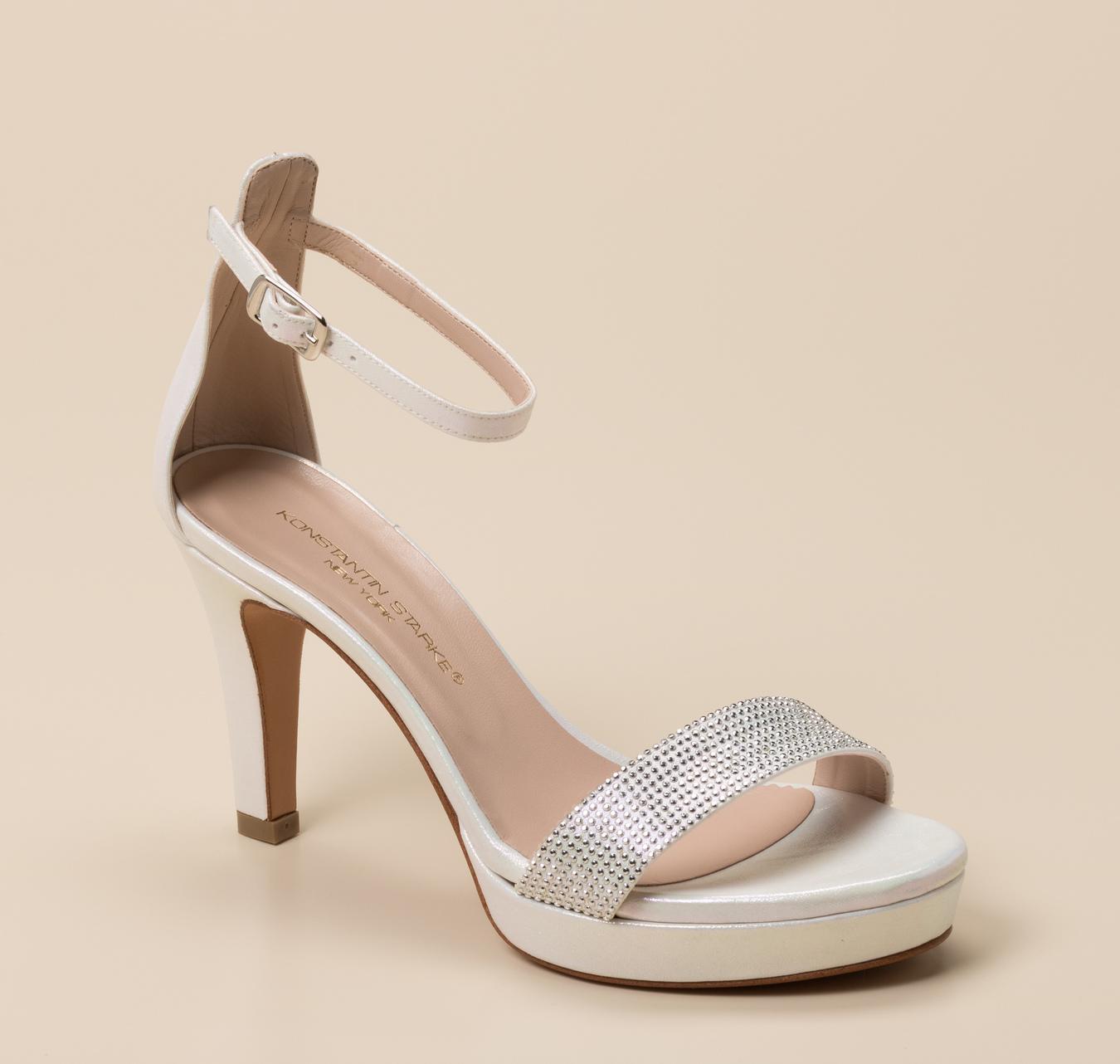 Weiß Damen Online Sandalette Starke In Konstantin KaufenZumnorde Shop Iby67vgYfm