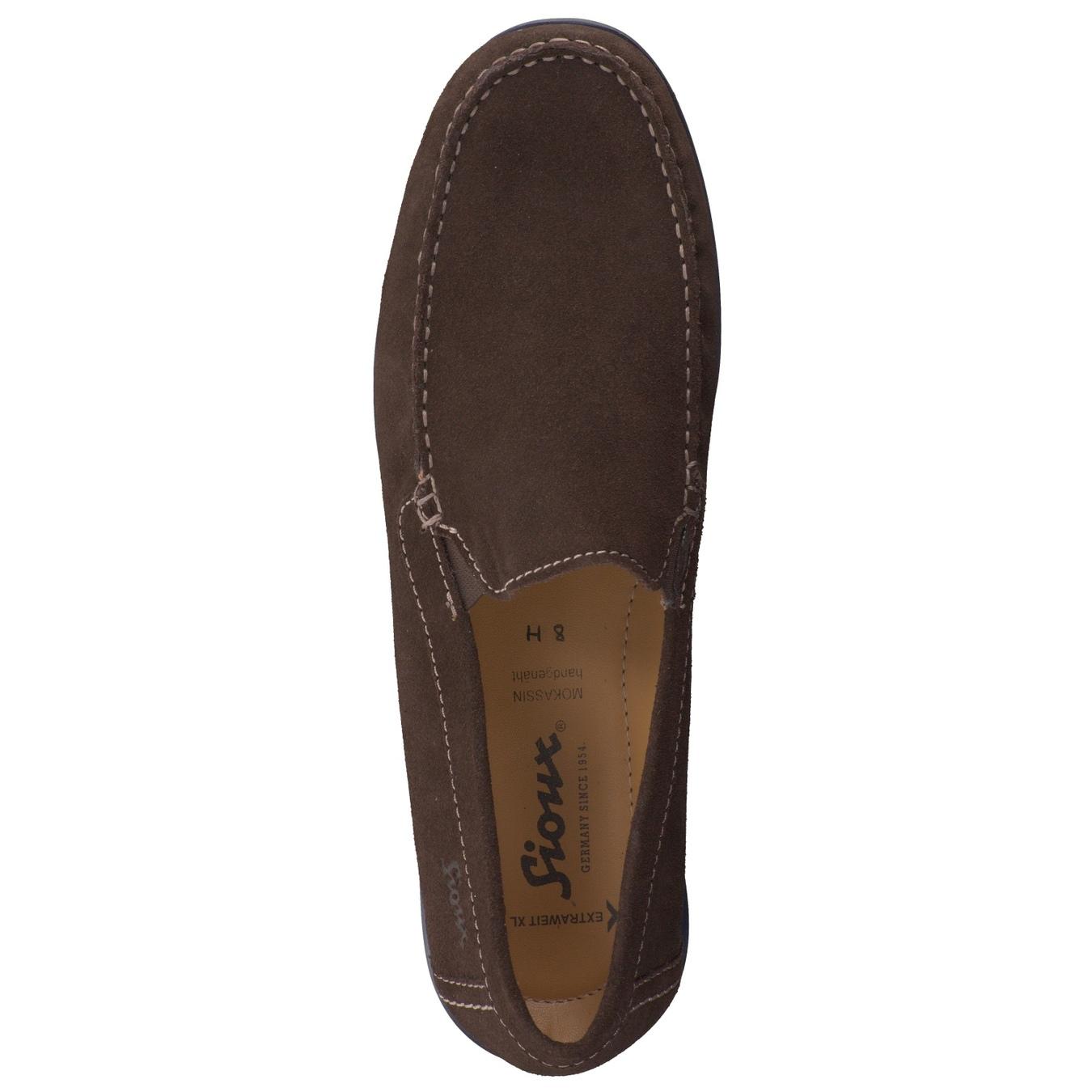 wholesale dealer fb0e3 5afaa Sioux Herren Slipper in dunkelbraun kaufen   Zumnorde Online-Shop