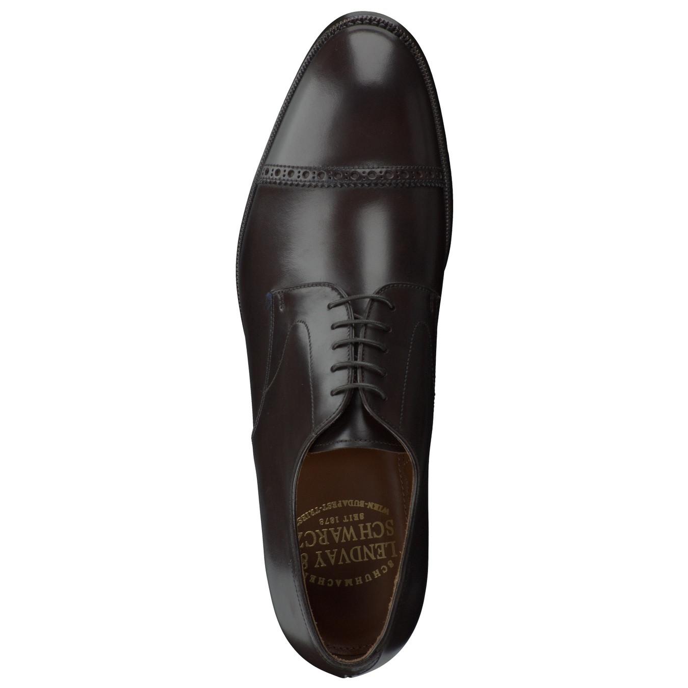 0bfa3ed067e948 Schnürschuh. Artikeldetails. Dieser edle Derby-Schuh der Marke Lendvay    Schwarcz ...