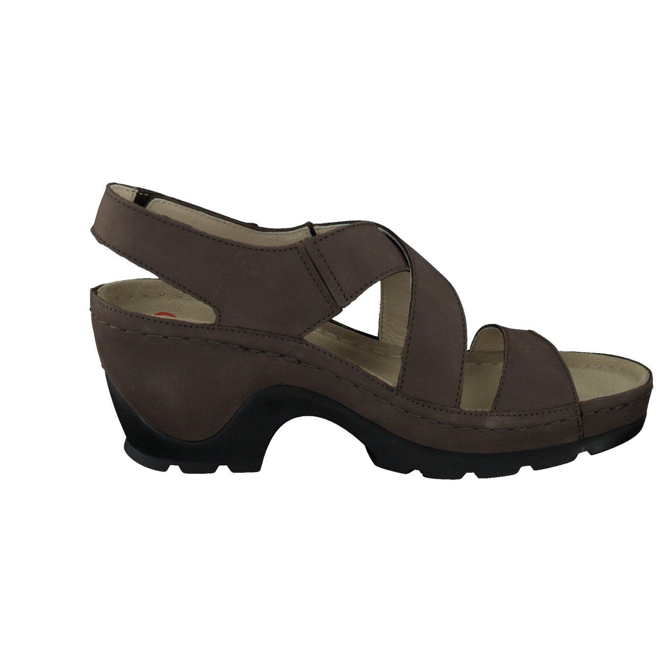 berkemann damen sandalette in mittelbraun kaufen. Black Bedroom Furniture Sets. Home Design Ideas