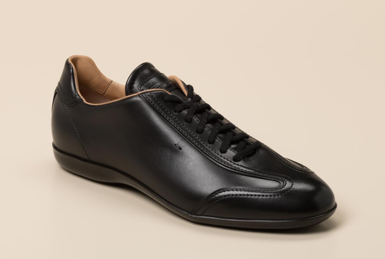 Santoni Herren Sneaker in schwarz kaufen   Zumnorde Online Shop