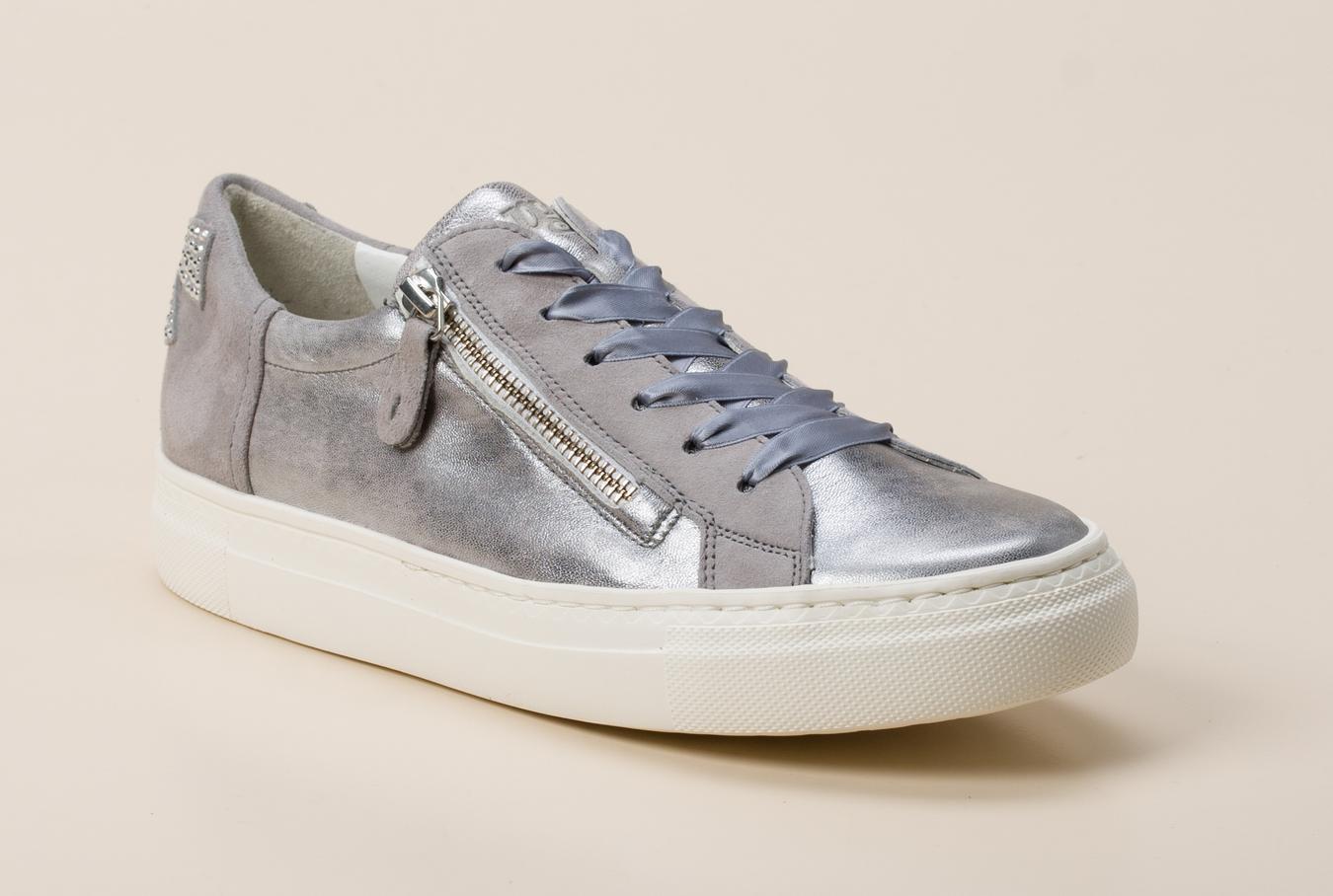 new style b4892 d0ade Paul Green Damen Sneaker in silber kaufen   Zumnorde Online-Shop