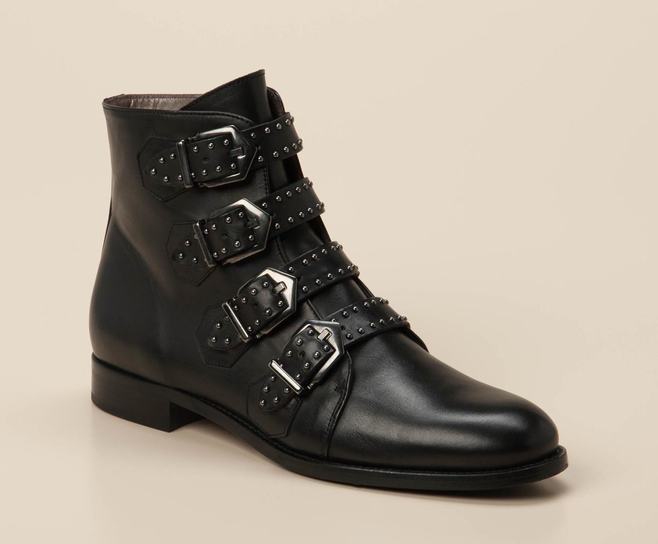 5041fddea81c87 Pertini Damen Stiefelette in schwarz kaufen