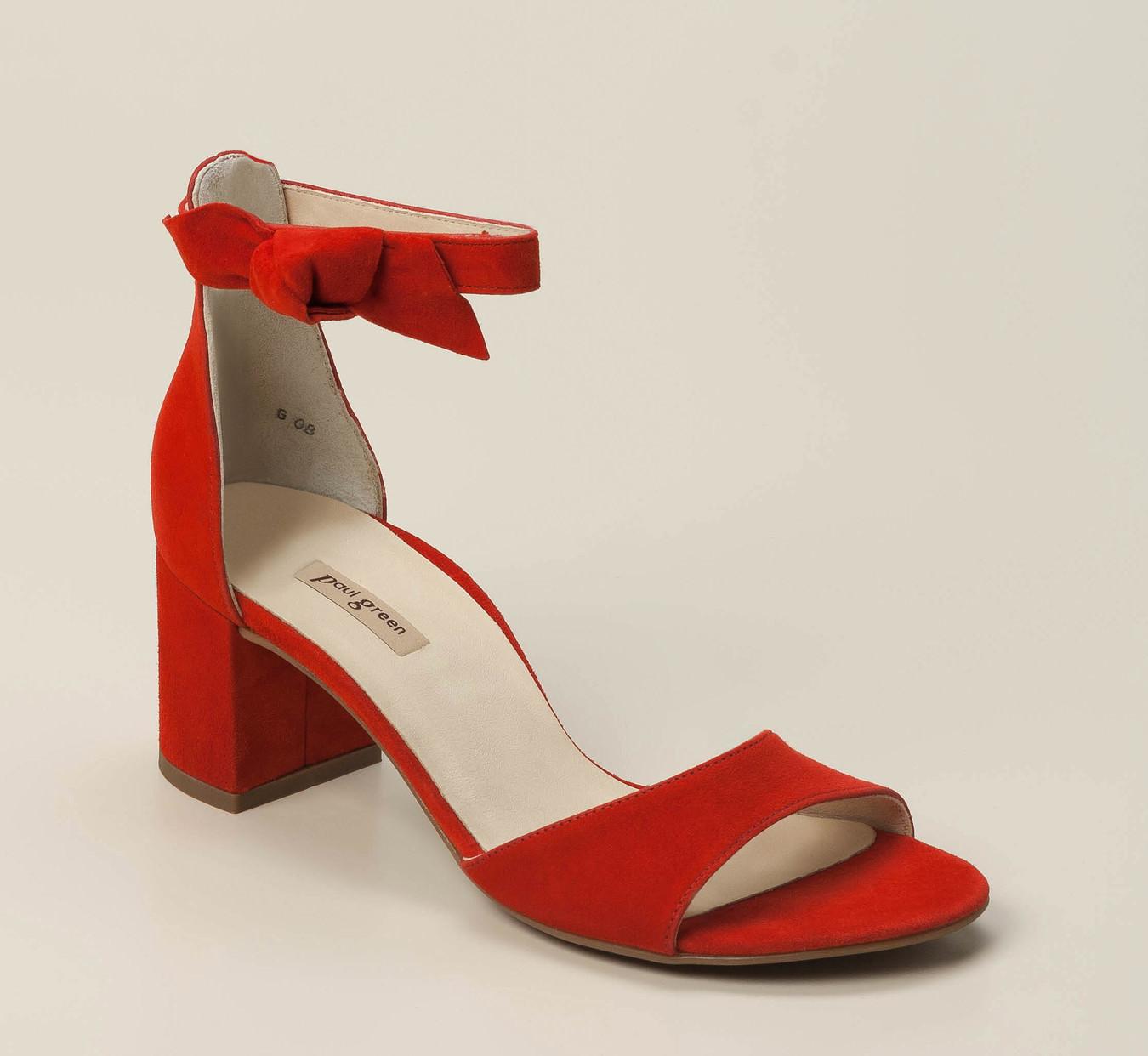 d434ac7b862ae1 Paul Green Damen Sandalette in rot kaufen