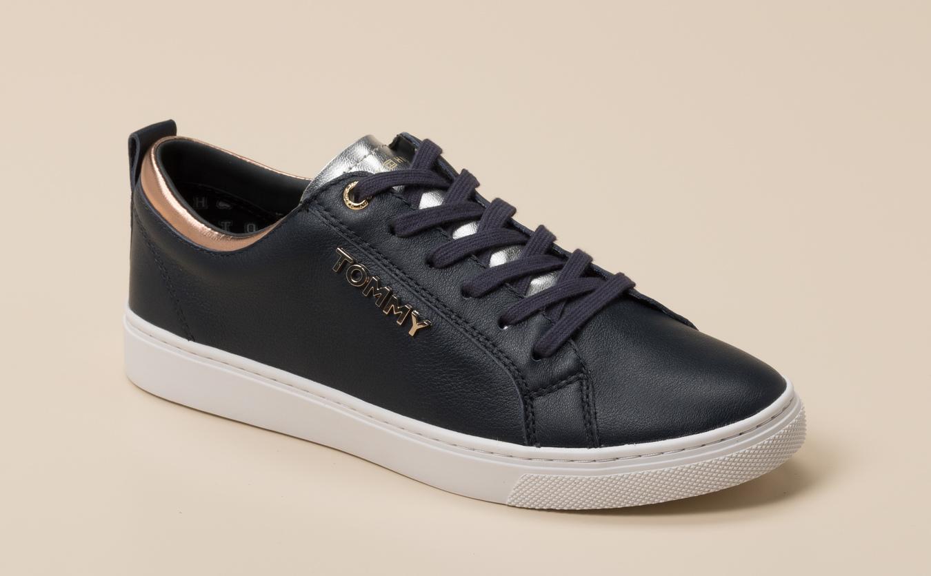 best service competitive price biggest discount Tommy Hilfiger Damen Sneaker in dunkelblau kaufen | Zumnorde Online-Shop