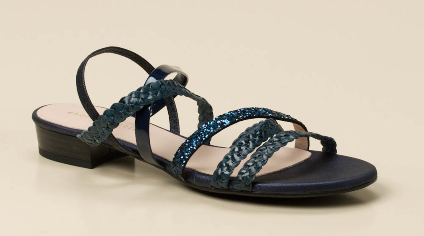 aa2ee31684a98 Andrea Puccini Damen Sandale in dunkelblau kaufen   Zumnorde Online-Shop