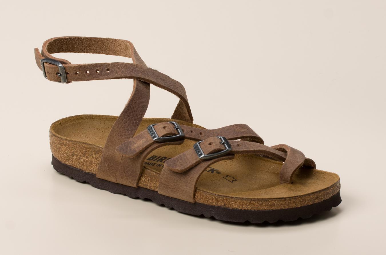2afc4a30611f50 Birkenstock Damen Sandale Seres in mittelbraun kaufen