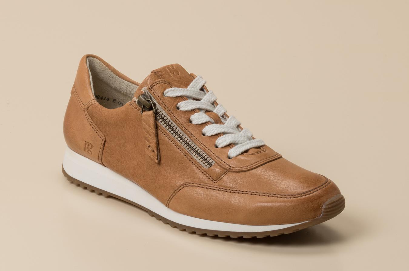 Paul Green Damen Sneaker in cognac kaufen | Zumnorde Online Shop