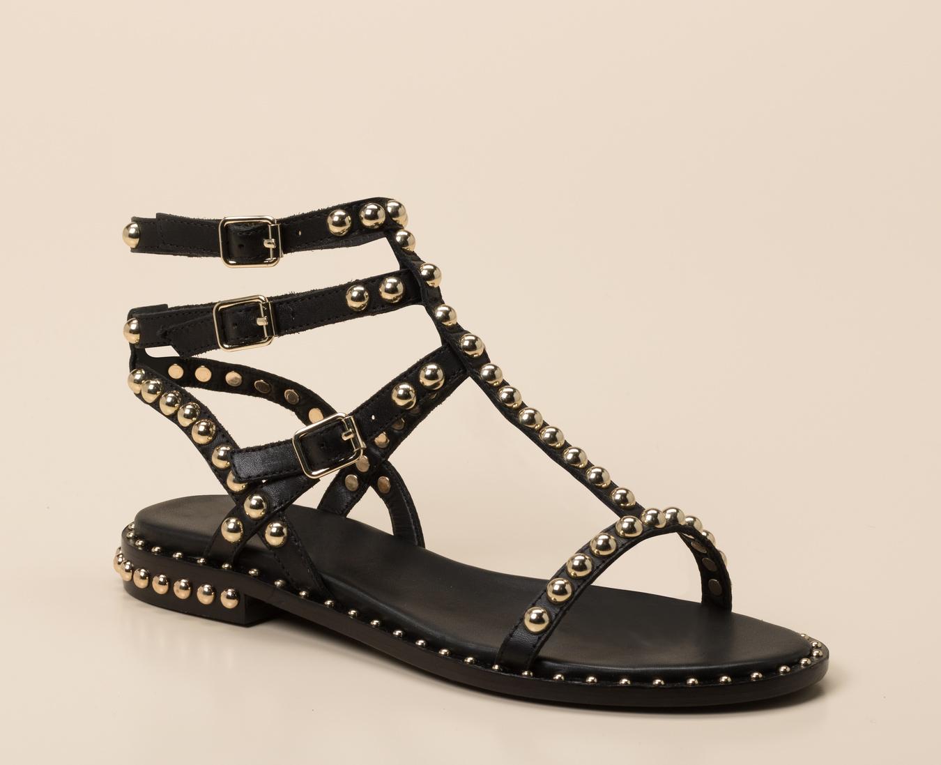 ash sandalen schwarz