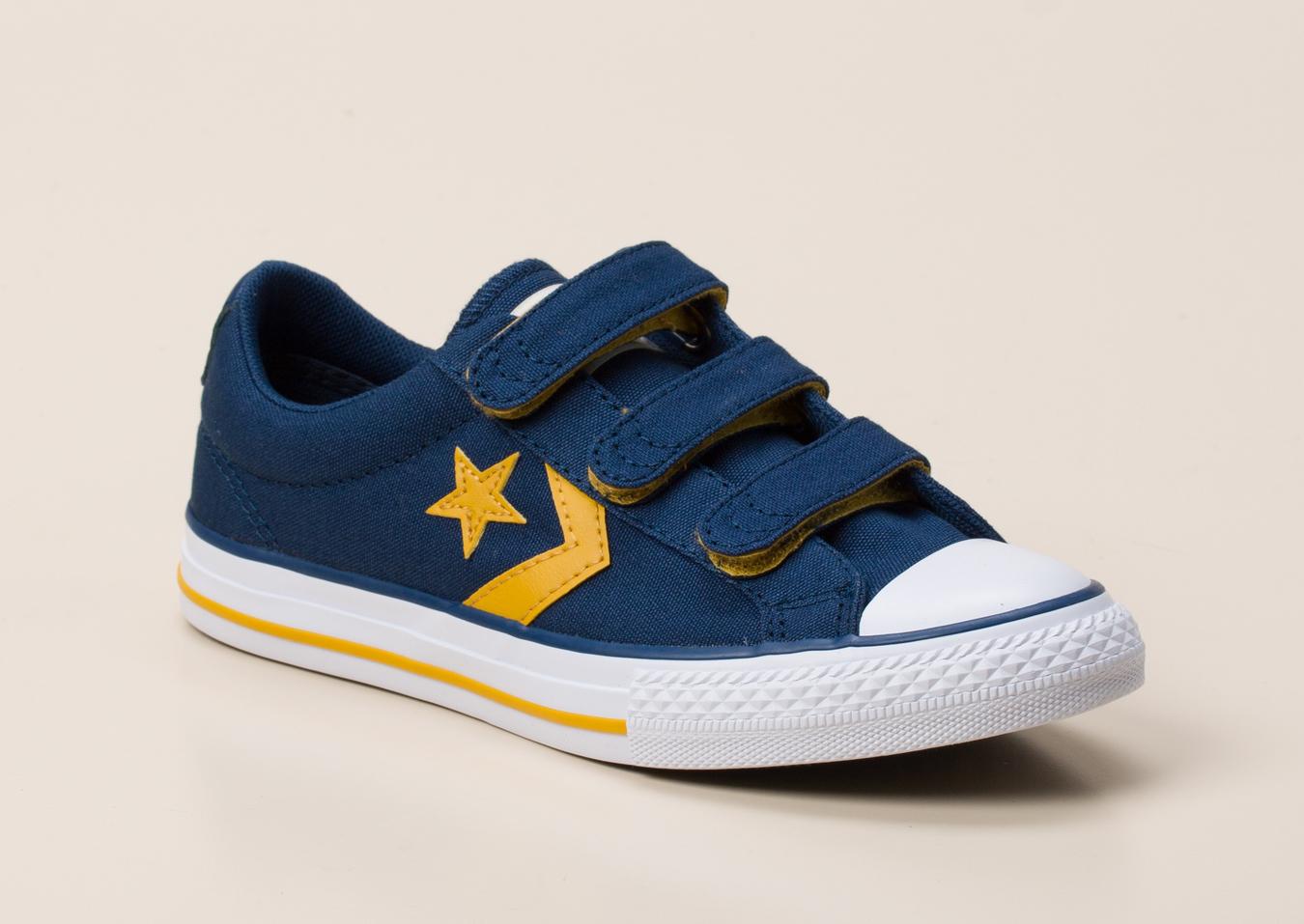 afb50ab75a340 Converse Kinder Klettverschluss-Sneaker in dunkelblau kaufen ...