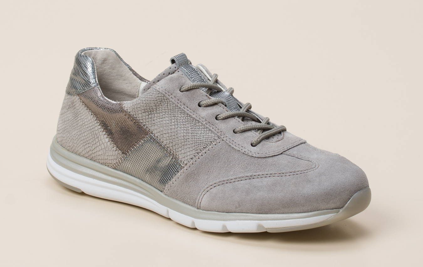 Gabor Comfort Damen Sneaker in grau kaufen   Zumnorde Online Shop