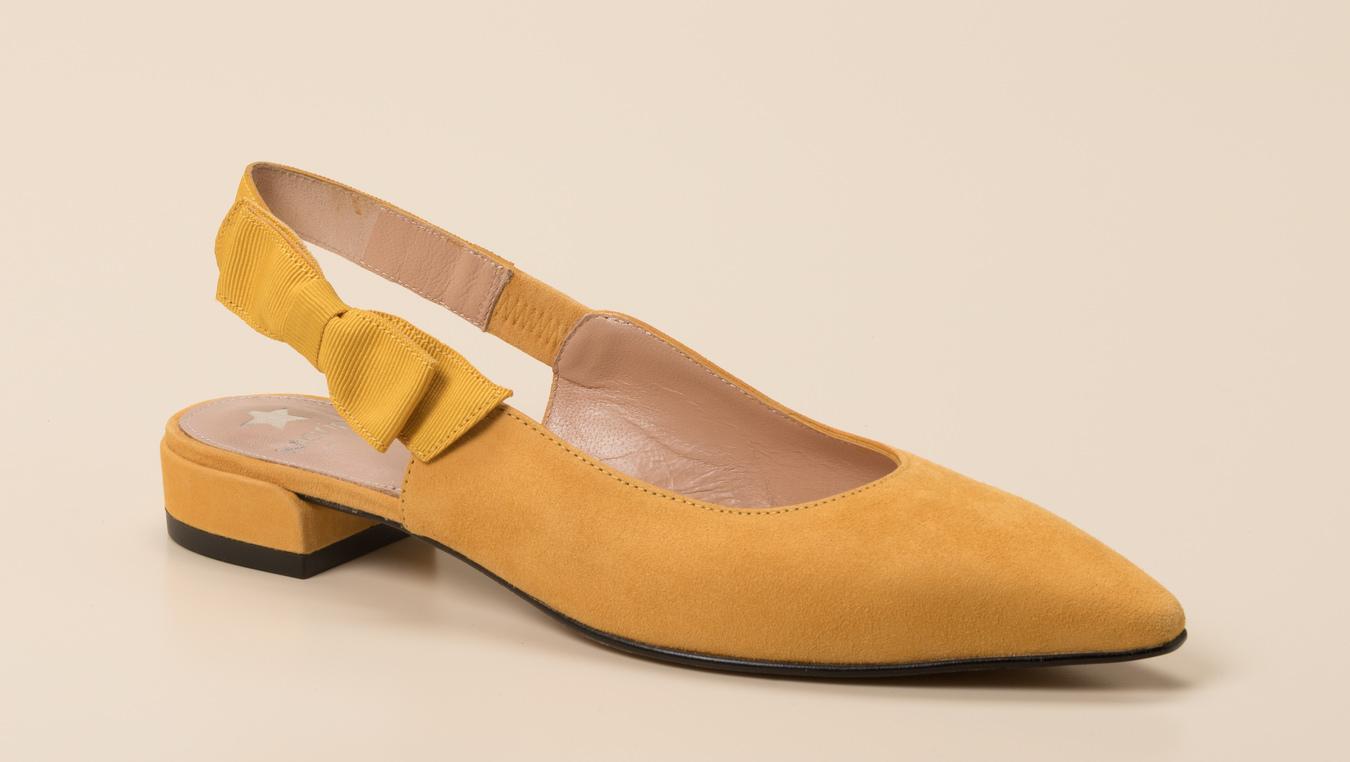 d0f1f942bfa5d4 Maripé Damen Slingpumps in gelb kaufen