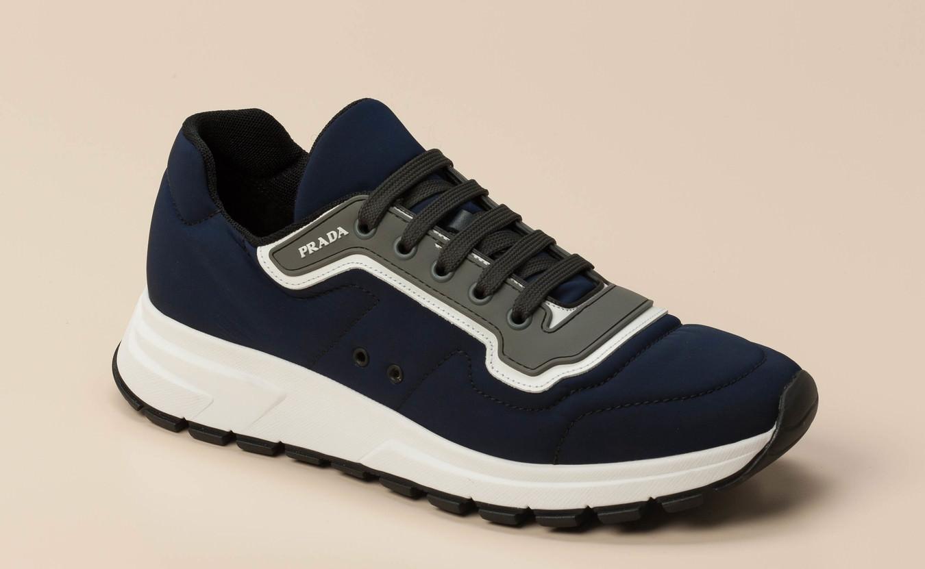 6647d20b69b8d Prada Linea Rossa Herren Sneaker in dunkelblau kaufen