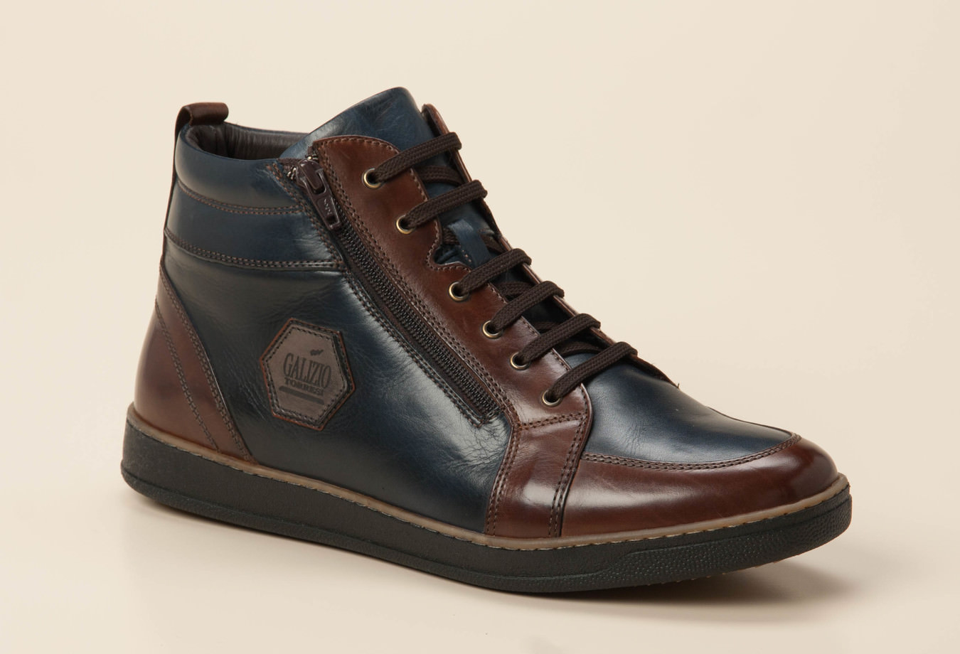 3faa7ac90af875 Galizio Torresi Herren Sneaker high in blau braun kaufen