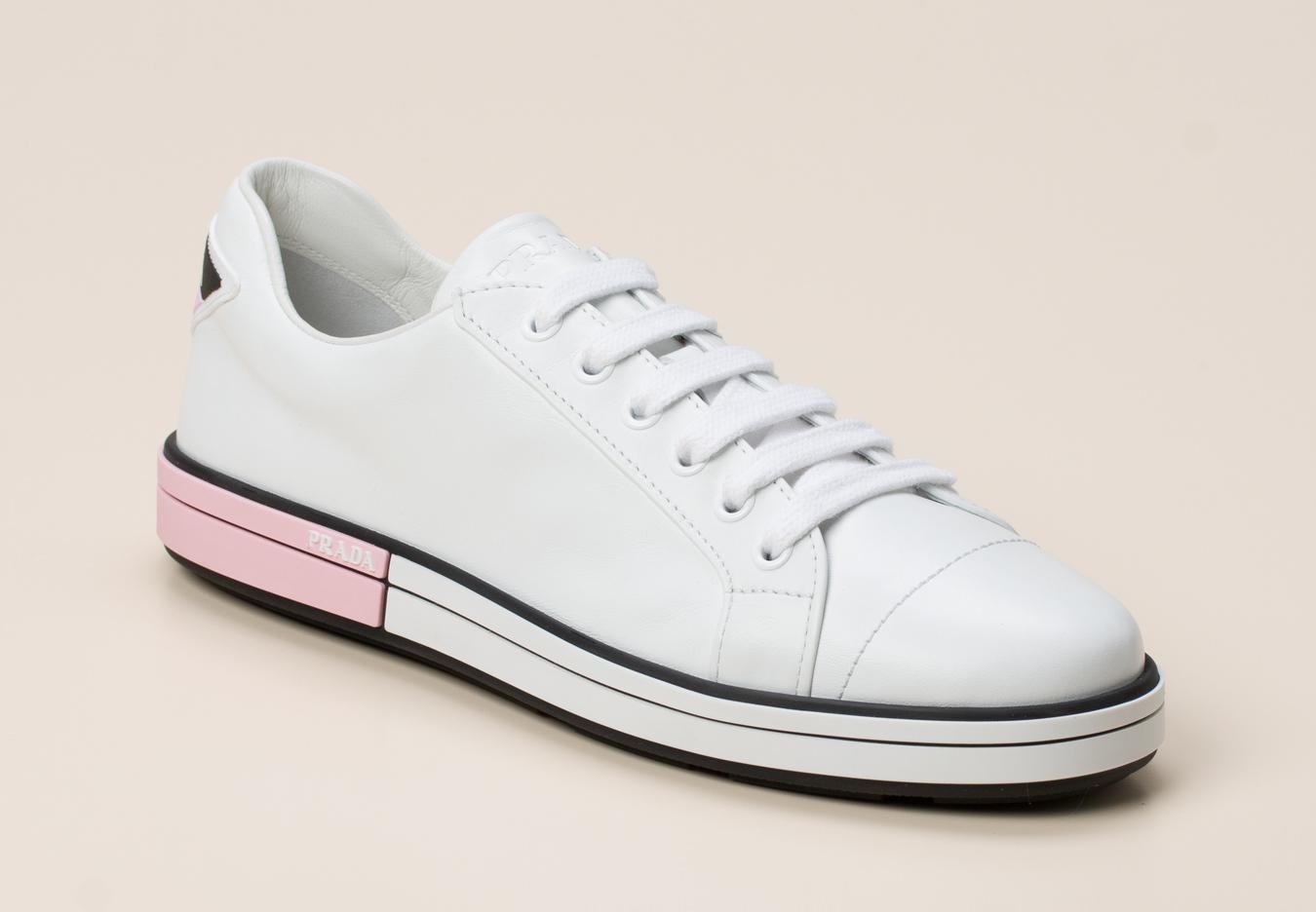 9e3fdf4c87459 Prada Damen Sneaker in weiß kaufen