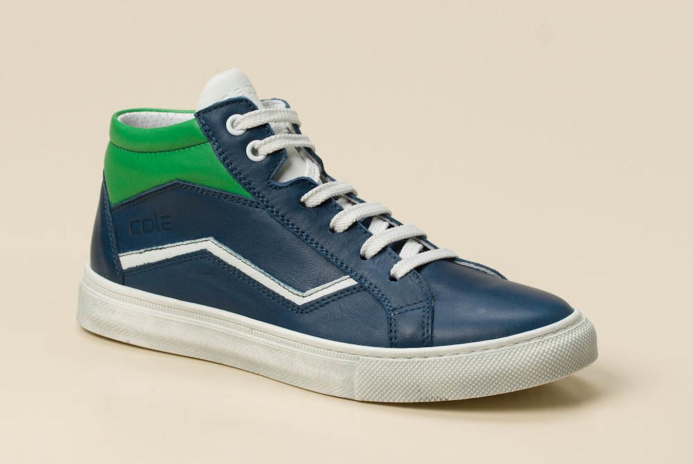cab59ff7c28a30 cole bounce restore Kinder Sneaker high in blau grün kaufen ...