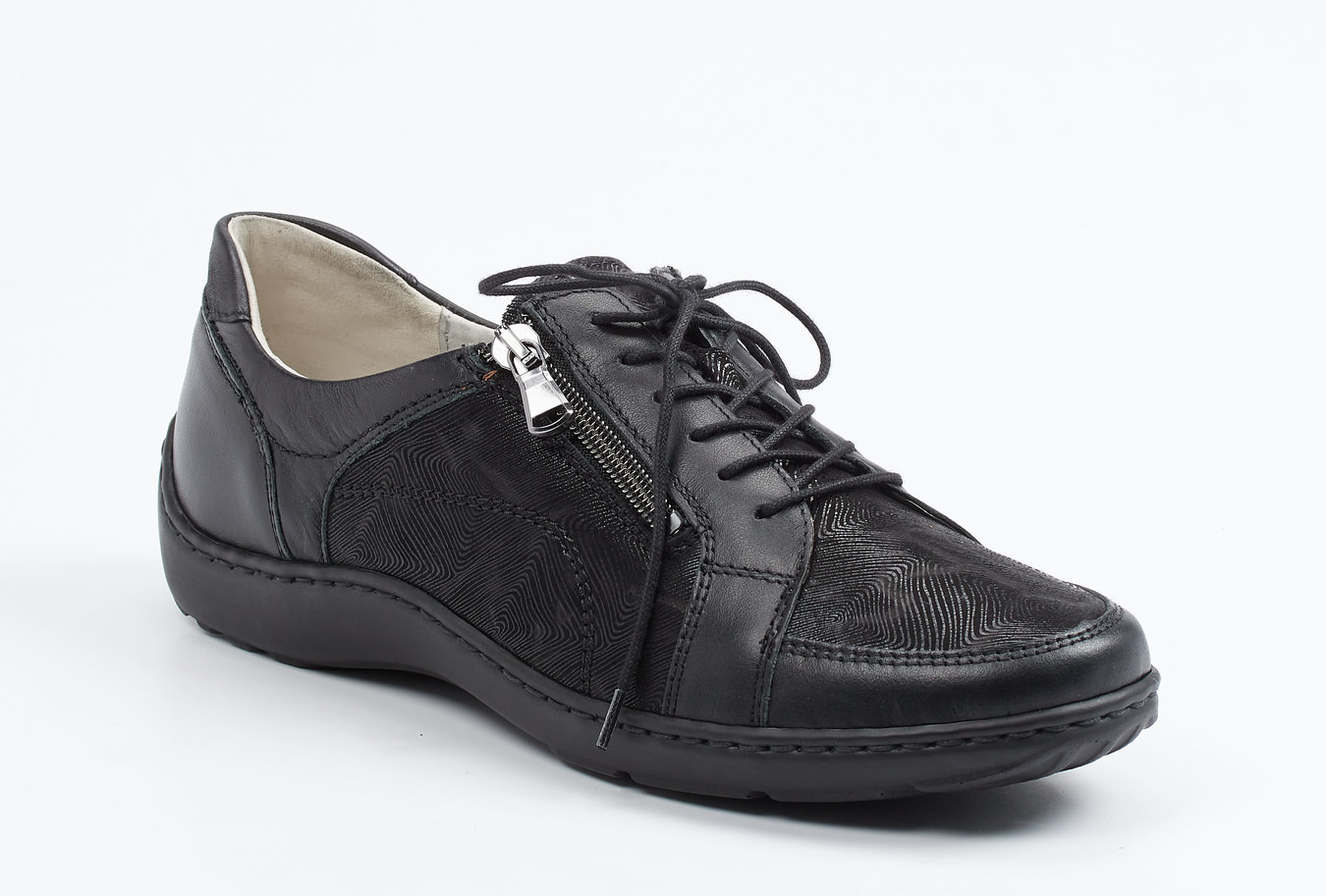 Waldläufer® Damen Leder Sneaker in Schwarz | Stylight