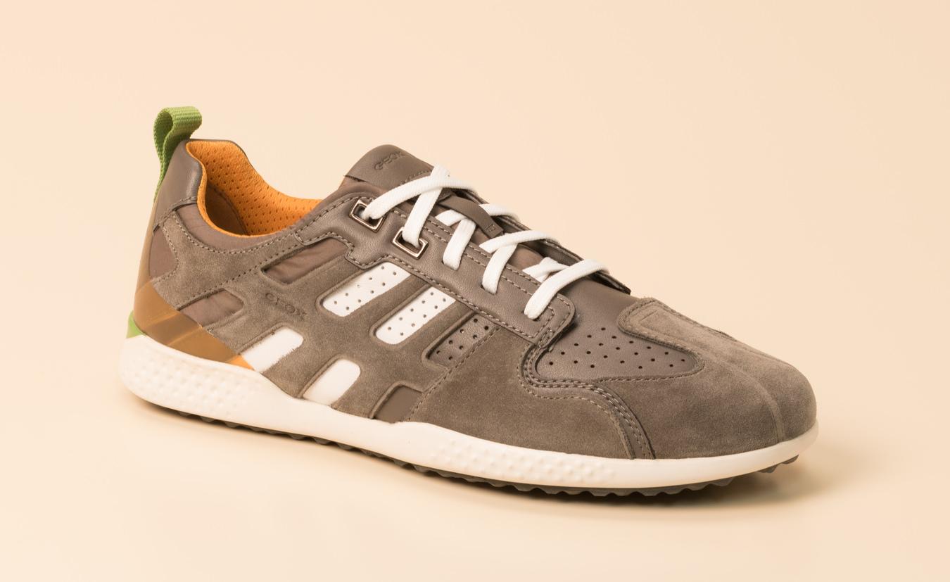 Geox Herren Sneaker in dunkelgrau kaufen | Zumnorde Online Shop