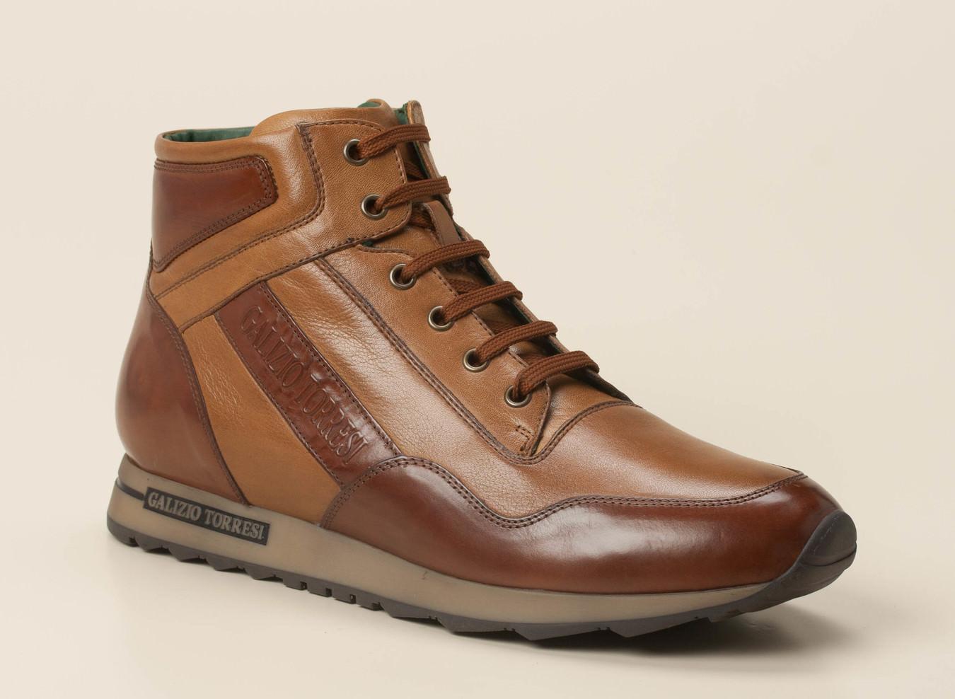 12261b618fc09a Galizio Torresi Herren Sneaker high in braun kaufen