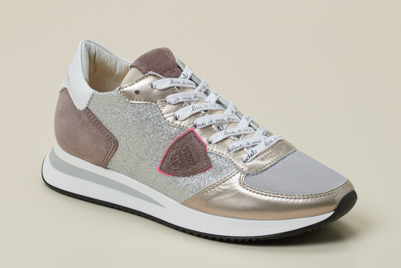Philippe Model Paris Damen Sneaker in grau kaufen | Zumnorde Online Shop