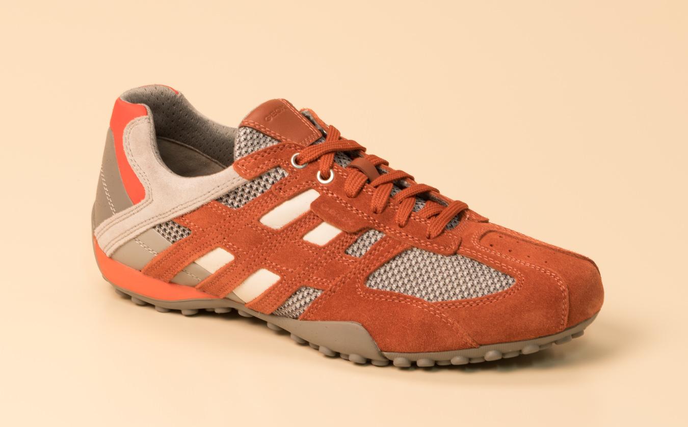 Geox Herren Sneaker in orange kaufen | Zumnorde Online Shop
