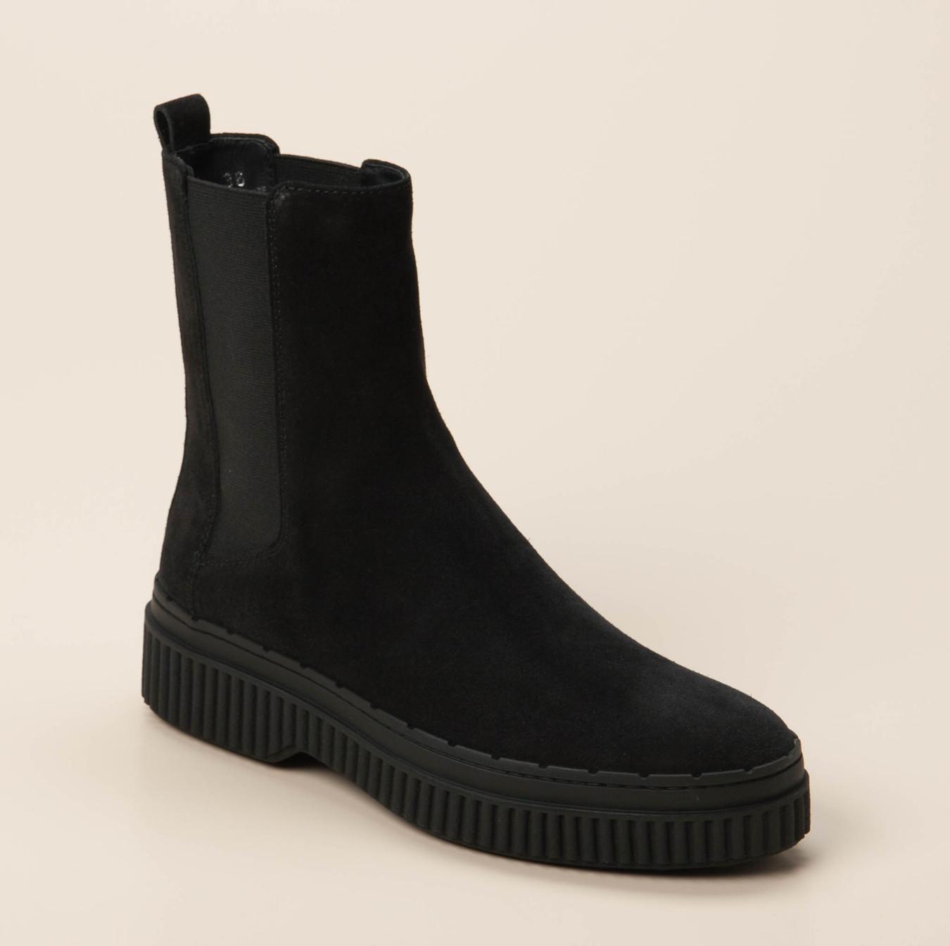 b5beb890ac912d Tod s Damen Stiefelette in schwarz kaufen