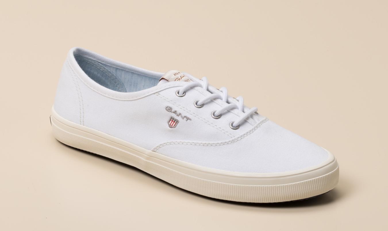 f9b18caebaf3b0 Gant Damen Sneaker in weiß kaufen