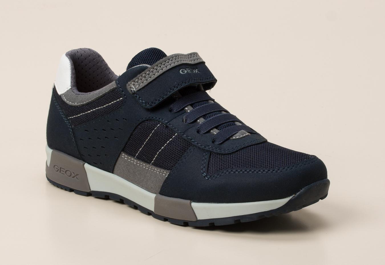 details for exquisite design best shoes Geox Kinder Sneaker in dunkelblau kaufen | Zumnorde Online-Shop