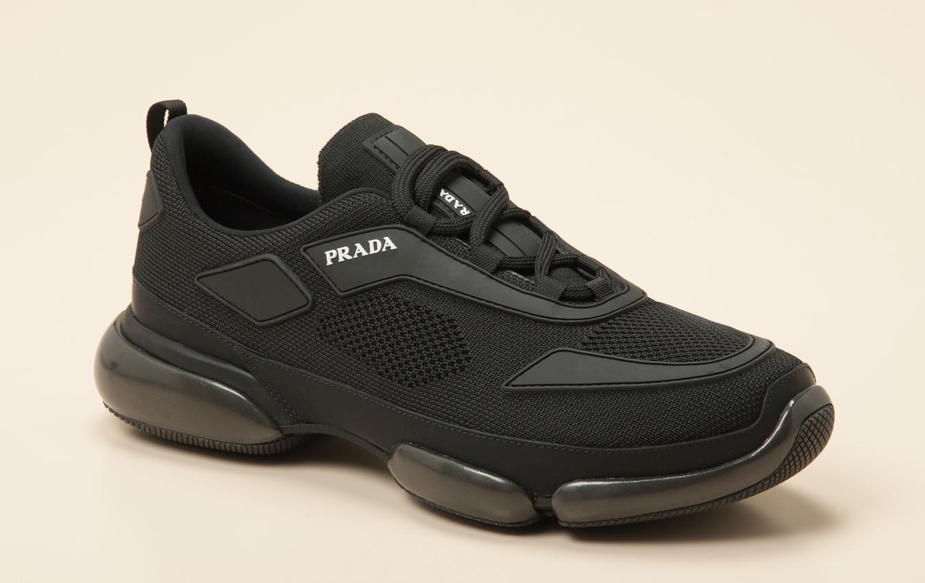 e449a56f59558 Prada Herren Sneaker in schwarz kaufen